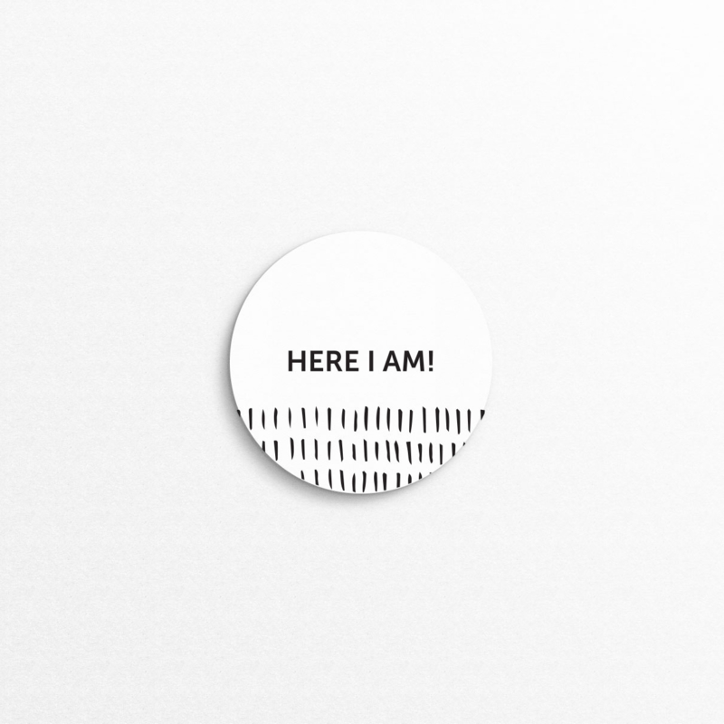 sluitzegel - here I am