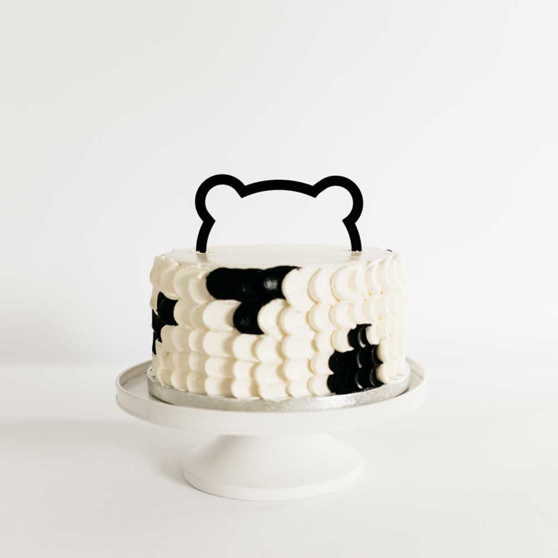 caketopper - bear ears