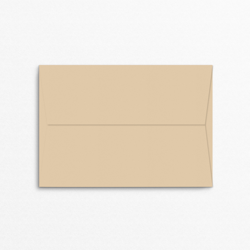 envelop trouwkaart - beige