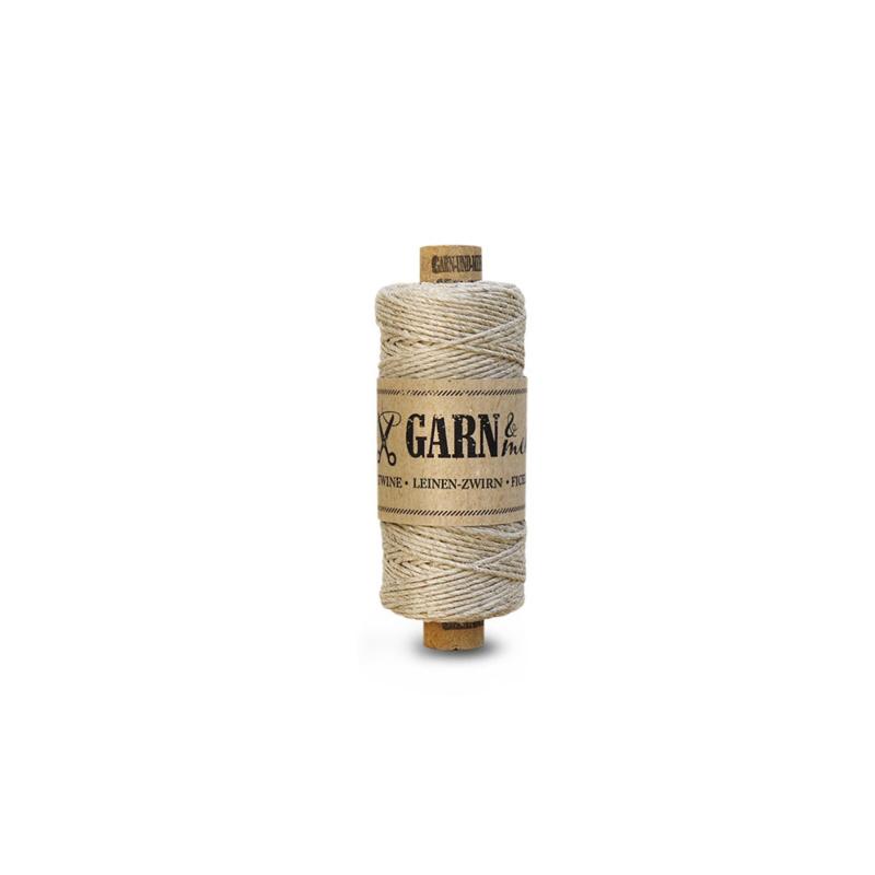 Garn & Mehr twine - linnen naturel