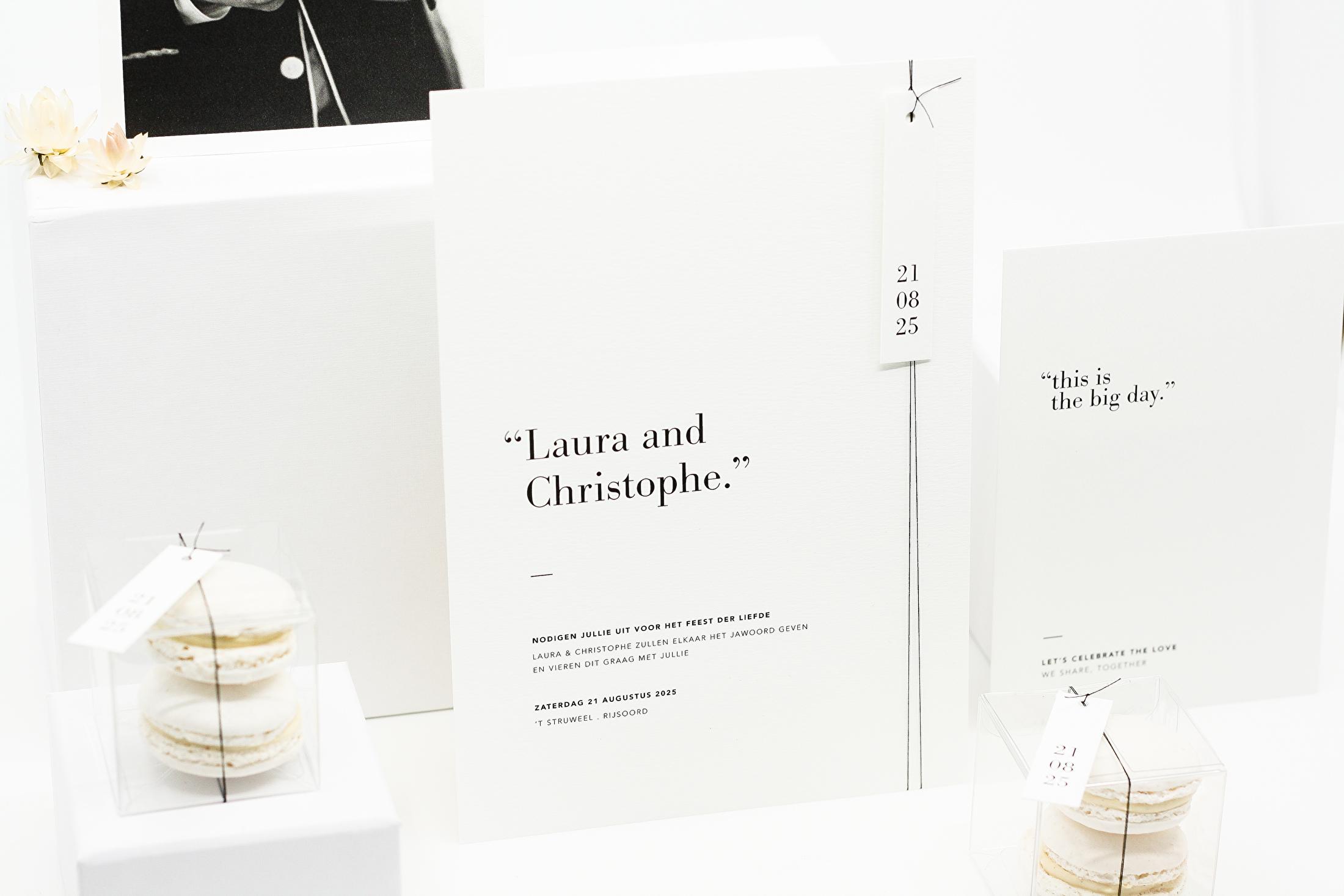 trouwhuisstijl pure simplicity