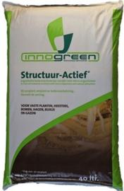 Structuur actief, de bodemverbetering voor uw haag en boom!