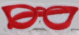 Red Glasses patch
