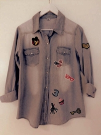 Outstanding Denim Shirt Customized