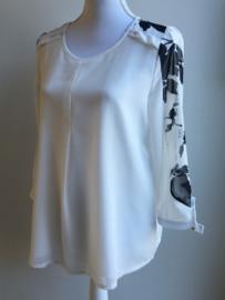 Floral blouse (maat M)