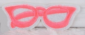 Pink Glasses patch