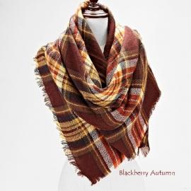 Outdoor shawls bruin beige