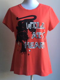 T-shirt 'NIKKIE - Wild at heart' (maat 40)