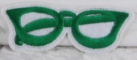 Green Glasses patch