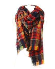 Outdoor shawls herfst kleuren
