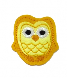 Yellow Owl patch