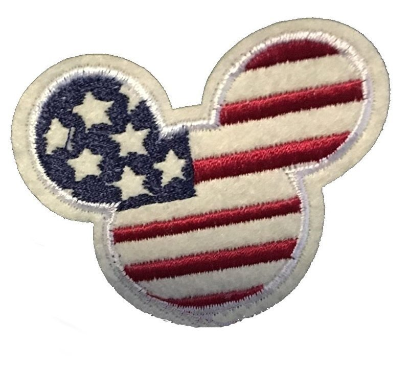 American Mouse patch