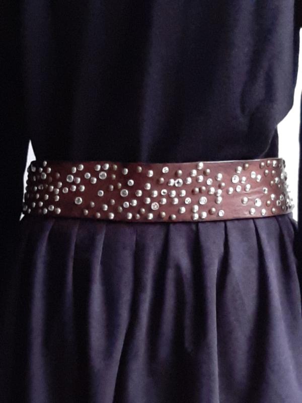 Studded belt 'Nurage' (100 cm)