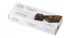 TORRONS VICENS NOUGAT - chocolade met limoen truffle nougat-praline met geroosterde granen en hazelnoot 150 gram