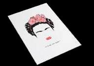Isol World Barcelona -  print Frieda Kahlo A4