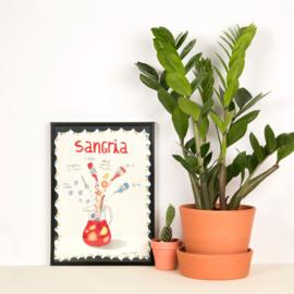 SANGRIA food print A4 - Nuria Marques