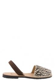 RIA MENORCA Spaanse sandaaltjes avarcas handgemaakt - model panter