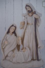 Kerststalletje handgemaakt 35 x45 cm