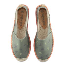 FACTOR TREE -  espadrilles army print - model  BEGUR 106