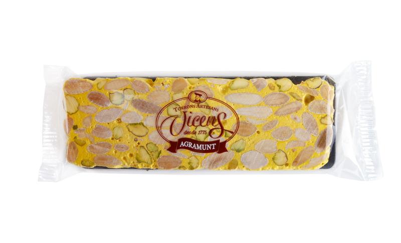 TORRONS VICENS NOUGAT - Harde amandel nougat met pistache en lemon