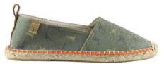 FACTOR TREE -  espadrilles army print - model  BEGUR 106