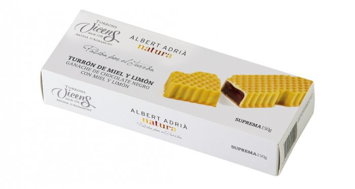 TORRONS VICENS NOUGAT - nougat met honing en limoen 150 gram