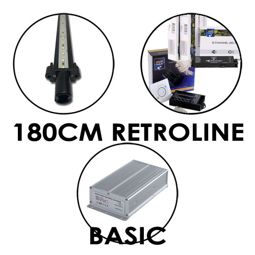 180CM Aquarium LED set RetroLINE BASIC