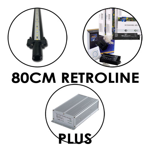80CM Aquarium LED set RetroLINE PLUS