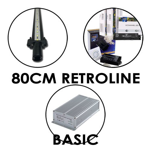 80CM Aquarium LED set RetroLINE BASIC
