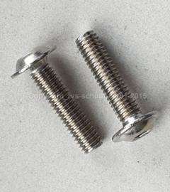 Laagbolkopflensschroef M3X5