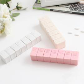 Pillen/Supplementen Weekdoosje Roze