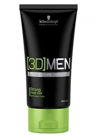 Schwarzkopf 3DMen Strong Hold Gel