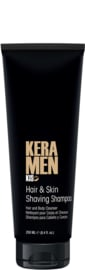 KIS KeraMen - Hair & Skin Shaving Shampoo - 250 ml - 95171