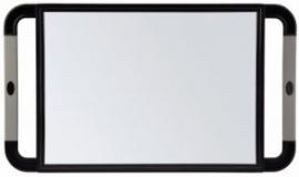 Handspiegel V-design zilver