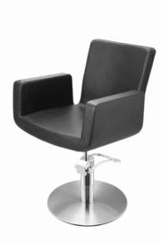 Sibel - Kappersstoel - Attractio - Zwart/Zwart Croco/Bruin - 0180811