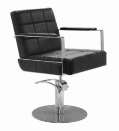 Sibel - Kappersstoel - Celestino - Zwart/Zwart Croco/Bruin - 0181900