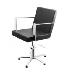 Sibel - kappersstoel - Devotio - Zwart/Zwart Croco/Bruin - 0180555