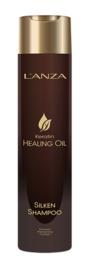 L'ANZA - Keratin Healing Oil Silken Lustrous - Shampoo - 300 ml - 654050230100