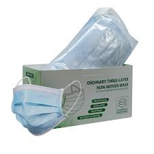 Disposable Protective Mask - Mondkapjes - Mondmaskers - 3 PLY - 50 stuks - 8906