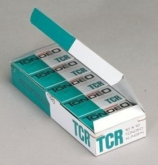 Tondeo mesjes TCR (kort) per doos 100 stuks