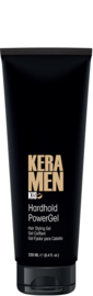 KIS KeraMen - Hard Hold Power Gel - 250ml - 95583