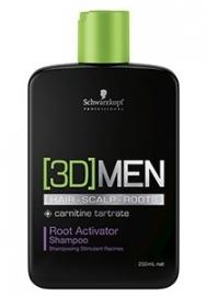 Schwarzkopf 3DMen Root activator Shampoo