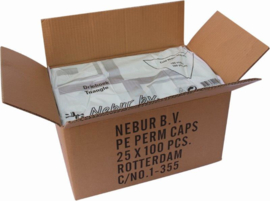 Nebur - Wegwerp - Permanent - Driehoek - 100 stuks - 8716165991238