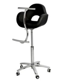 Sibel - Kappersstoel - Pacha - Voor Kinderen - Zwart - 0170115