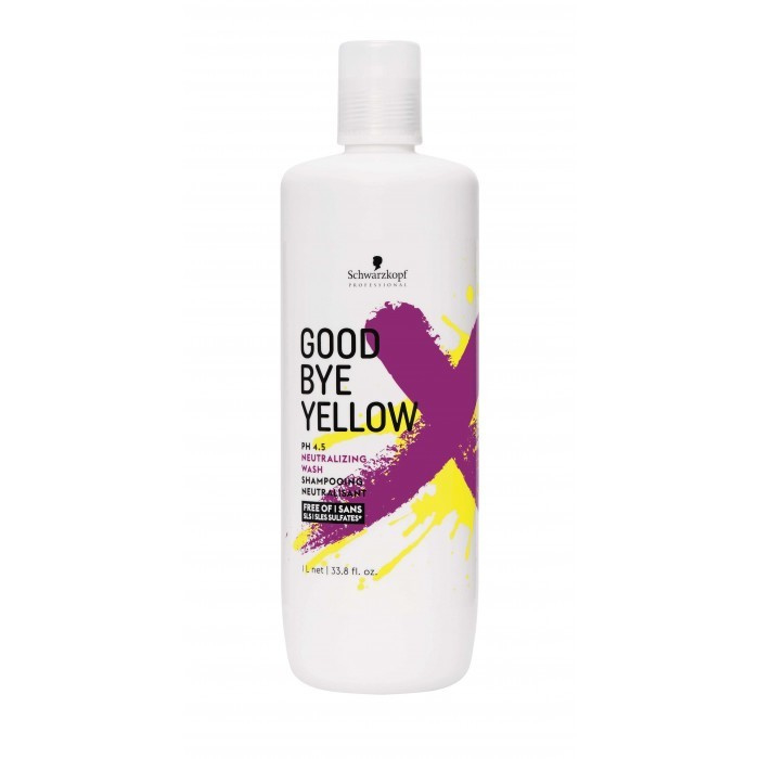 Schwarzkopf - Goodbye Yellow - Zilvershampoo - 1L - 4045787404807