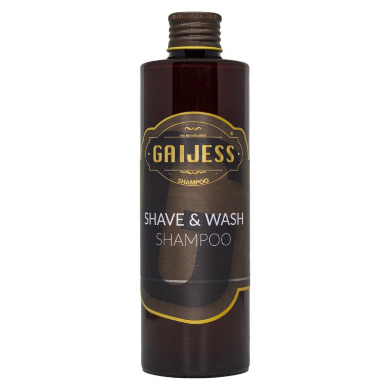 Gaijess - Shave and wash - Shampoo - 250ml