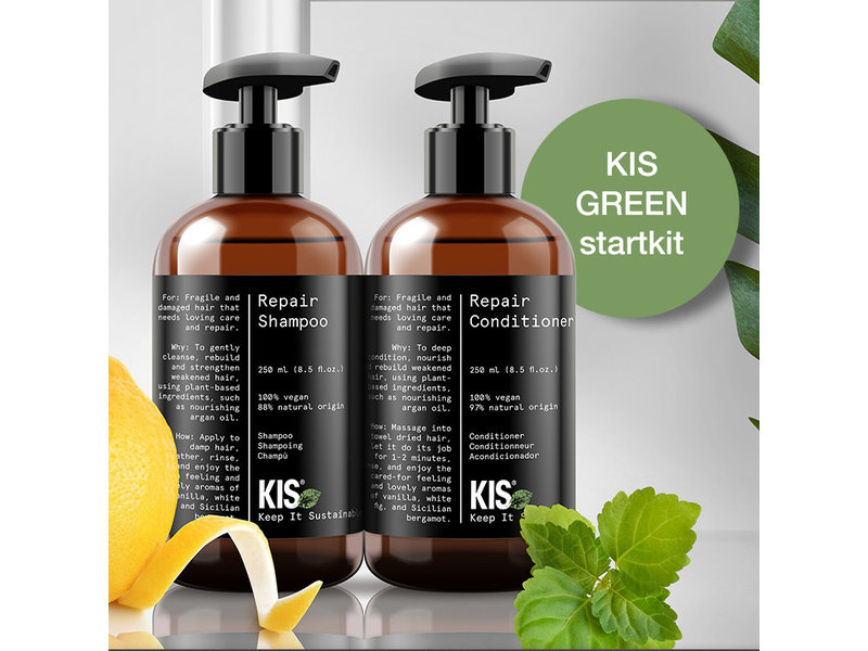 KIS HAIRCARE - KIS GREEN - INTRO DEAL - STARTKIT