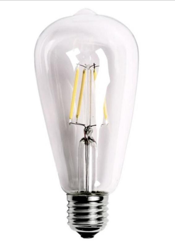 LED > Filament Bulb
