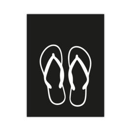 Letterslinger - symbool slippers
