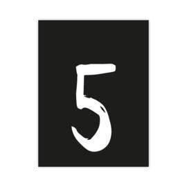 Letterslinger - cijfer 5